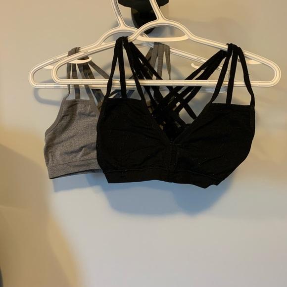 Two XOXO sports bras size small